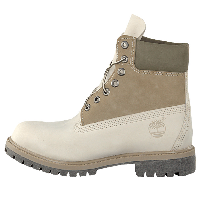 timberland 6 inch af premium boots leather boots white