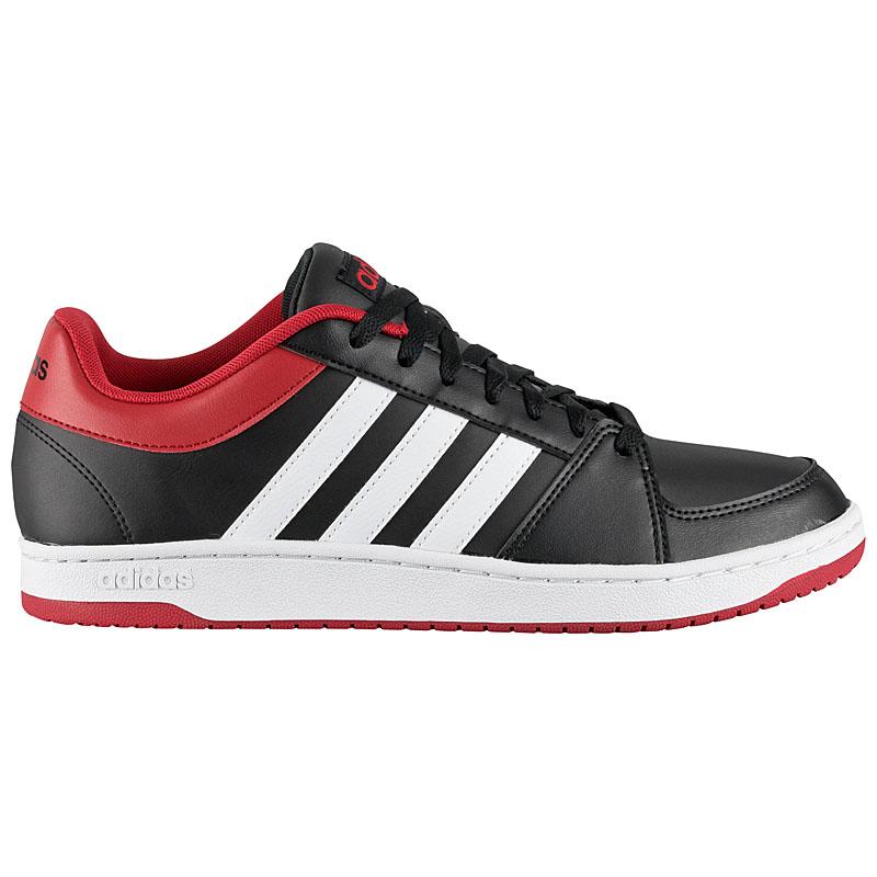 adidas hoops low vs herren sneaker schuhe schwarz wei. Black Bedroom Furniture Sets. Home Design Ideas