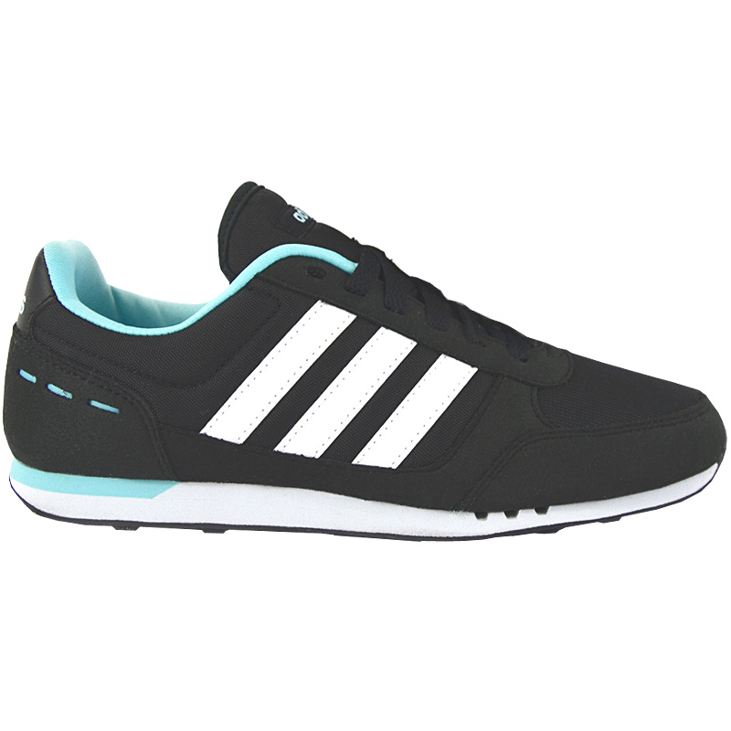 official photos 5734f fe0f1 adidas Frauen Sneaker City Racer W Damen Schuhe Schwarz Turnschuhe Freizeit  NEU