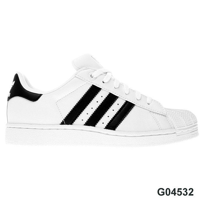 adidas originals superstar 2 ii schuhe leder sneaker neu. Black Bedroom Furniture Sets. Home Design Ideas