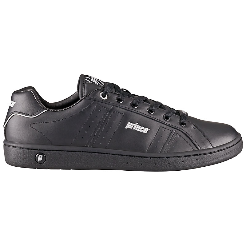 prince classic leather sneaker schuhe tunrschuhe herren damen leder wei schwarz ebay. Black Bedroom Furniture Sets. Home Design Ideas
