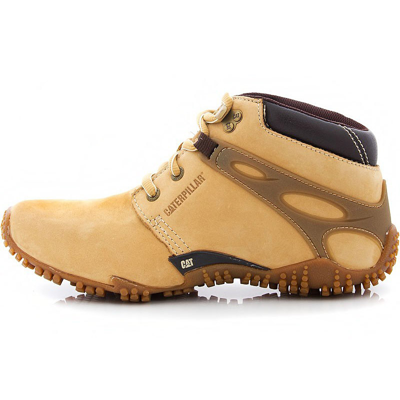 8d139a296591 Caterpillar GAMUT Mens Leather Boots Cat Boots Winter Boots Winter ...