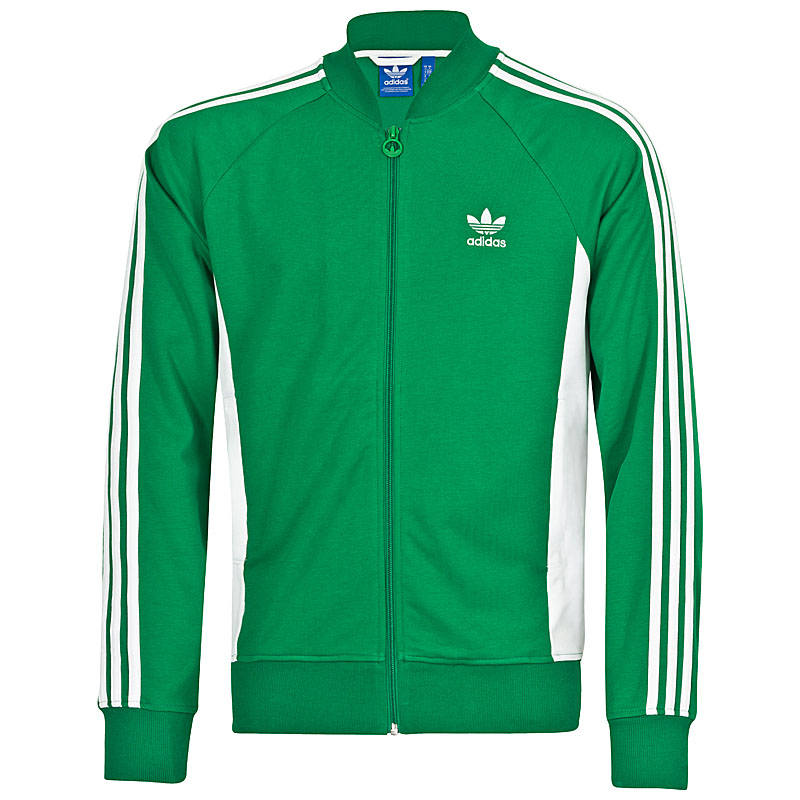jacket adidas court superstar men 39 s sports jacket firebird blue green. Black Bedroom Furniture Sets. Home Design Ideas