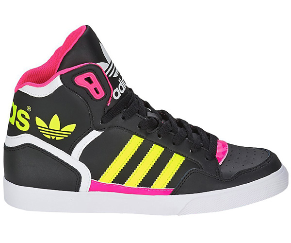 adidas extaball w damen high top sneaker schuhe. Black Bedroom Furniture Sets. Home Design Ideas