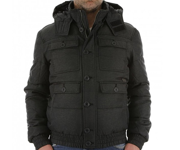 energie helios jacket herren jacke manner winterjacke mit kapuze grau. Black Bedroom Furniture Sets. Home Design Ideas