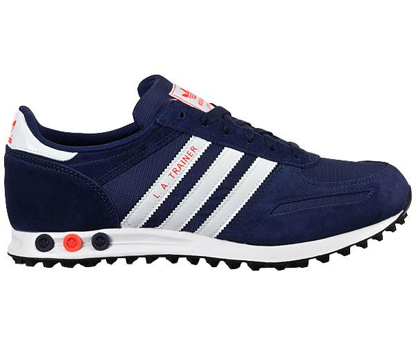 adidas la trainer m nner schuhe herren sneaker navy blau. Black Bedroom Furniture Sets. Home Design Ideas