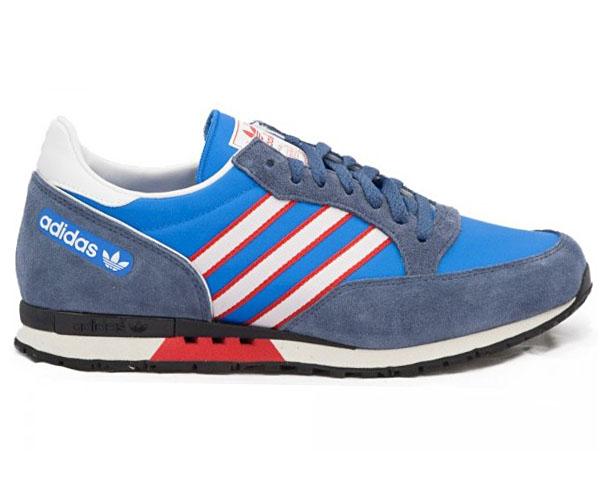 adidas schuhe retro blau
