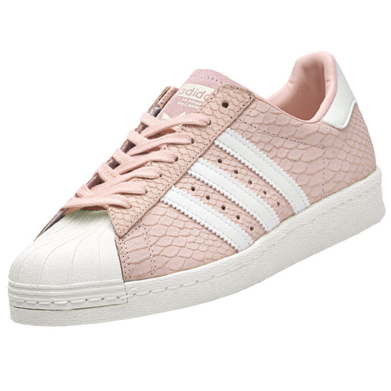 adidas superstar 80s w rosa leder damen sneaker schuhe. Black Bedroom Furniture Sets. Home Design Ideas