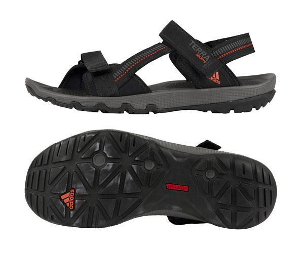 adidas terra sports ii 2 herren sandalen schwarz sandale outdoorsandalen neu ebay. Black Bedroom Furniture Sets. Home Design Ideas