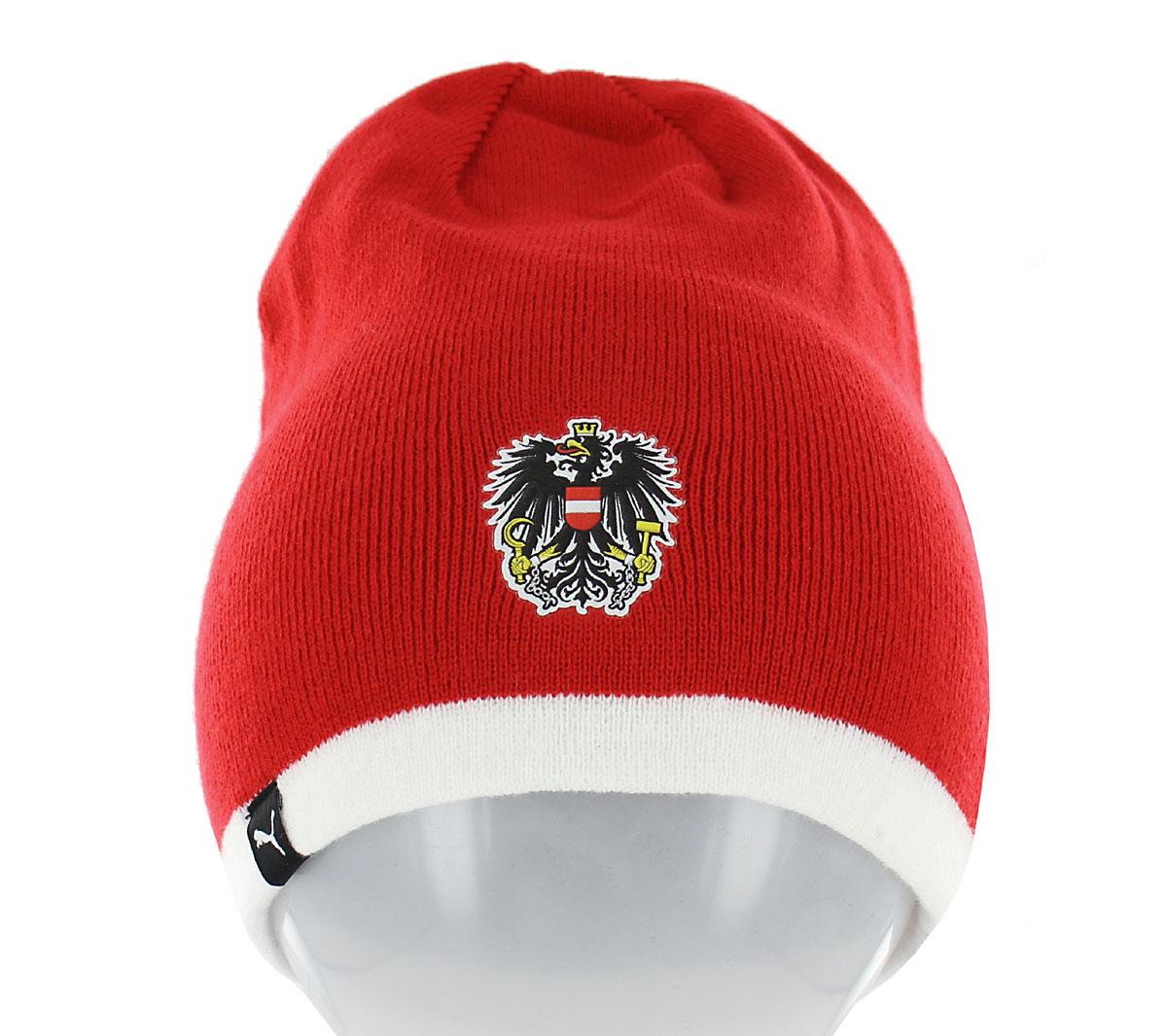 Dettagli su Puma Beanie Inverno Berretto Cappello Uomo Donna Calcio Austria Italia Nuovo