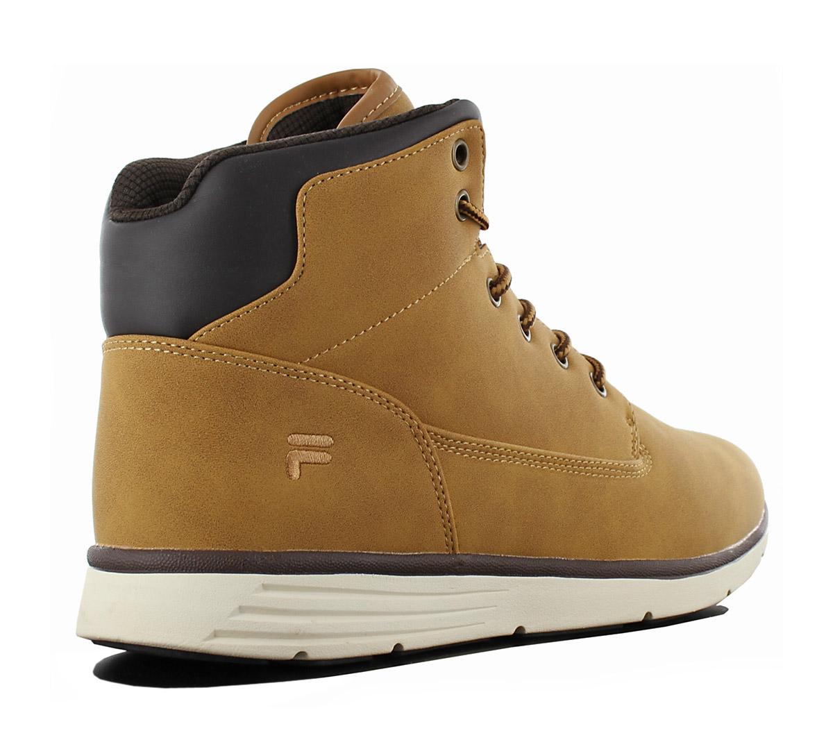 Fila Lance mid Winter Boots Men's Shoe Sneaker Beige Brown