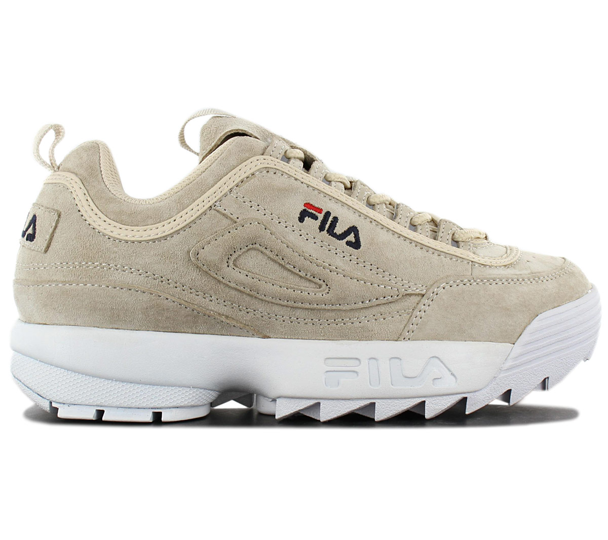 Details about Fila Disruptor S Low Women's Sneaker 1010605.90R Leather Gray Trainers Trainers