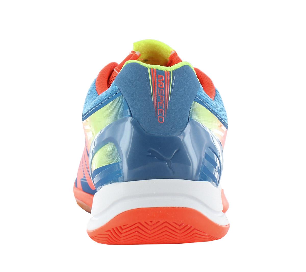 307ee1586 Puma Evospeed Indoor 1.2 Men s Indoor Shoes Handball Squash 102850 ...