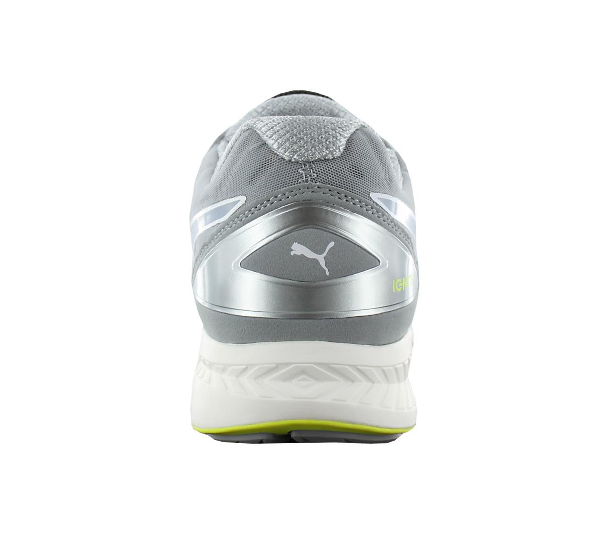 b36cefd0d73 Puma Ignite Disc Men s Shoes Sneakers Grey Running Shoes 188616-05 ...