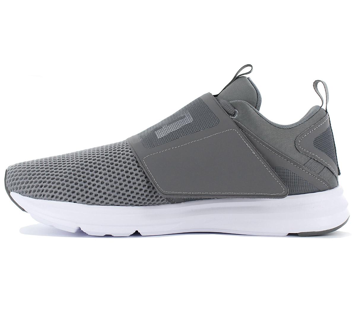 best sneakers d7307 4fd06 Puma Enzo Strap Schuhe Herren Sneaker Grau Turnschuhe ...