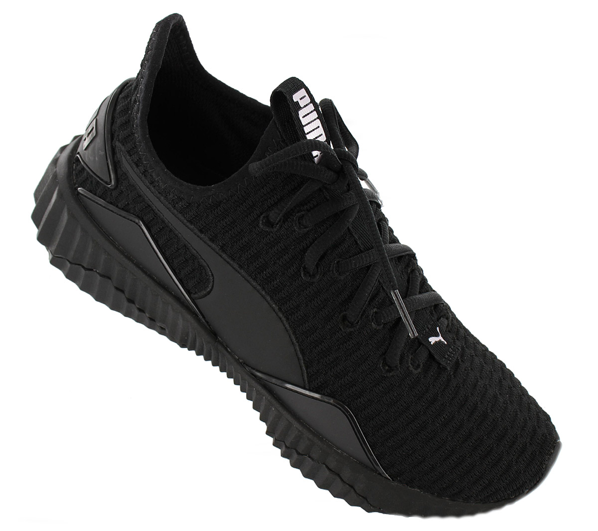 abd82651636 Puma Defy Sneaker Fashion Shoes Black Leisure Shoe 190949-10 ...