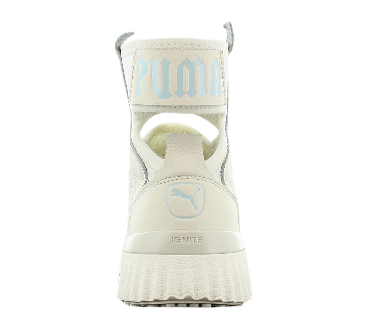 Dettagli su Fenty x Puma By Rihanna Trainer Mid Geo Donna Scarpe Sneaker 191231 01 Sneaker