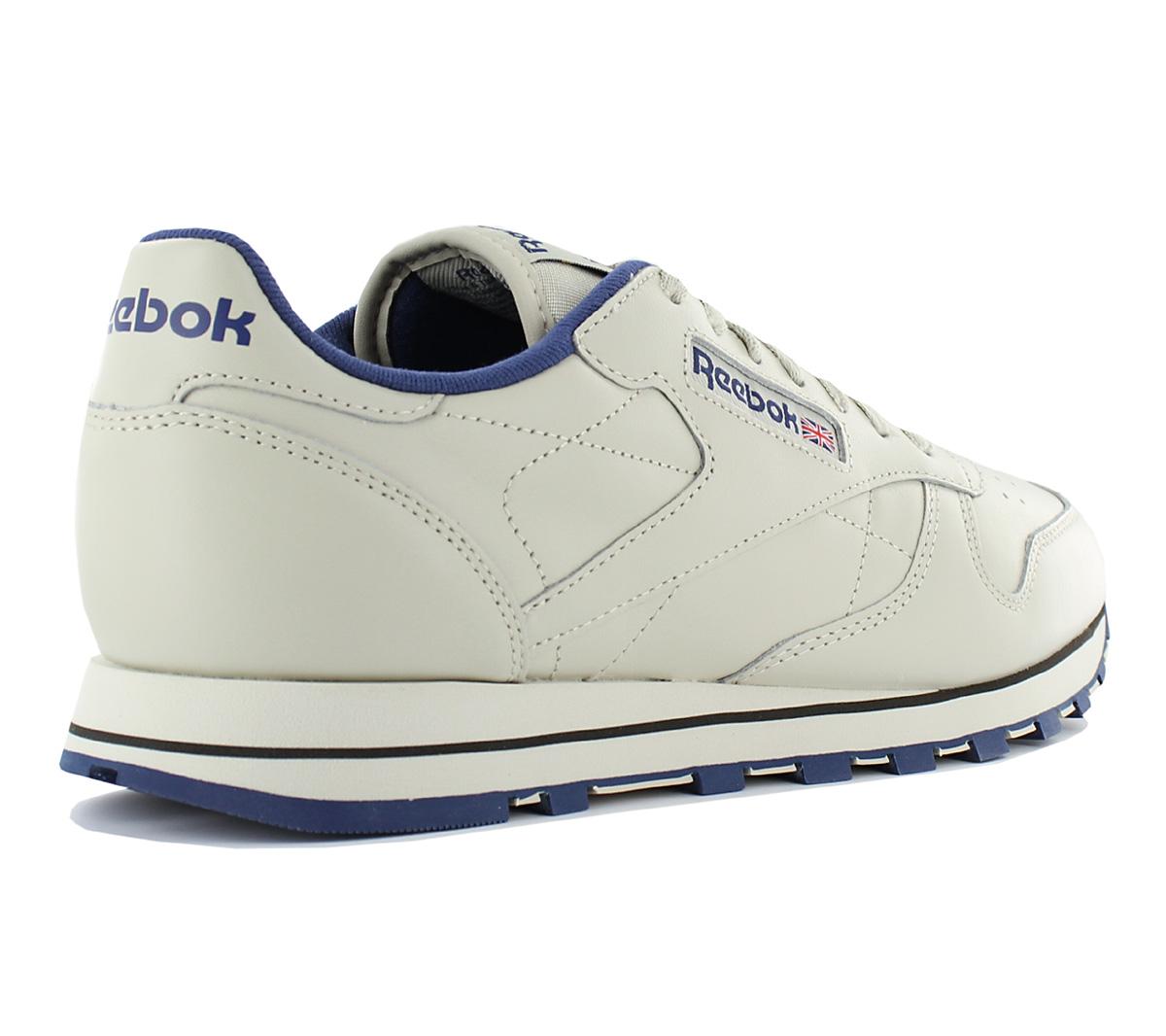 c520fef9f7923d Reebok Classic Leather Men s Sneakers Shoes Ecru-Beige Leather Rbk ...