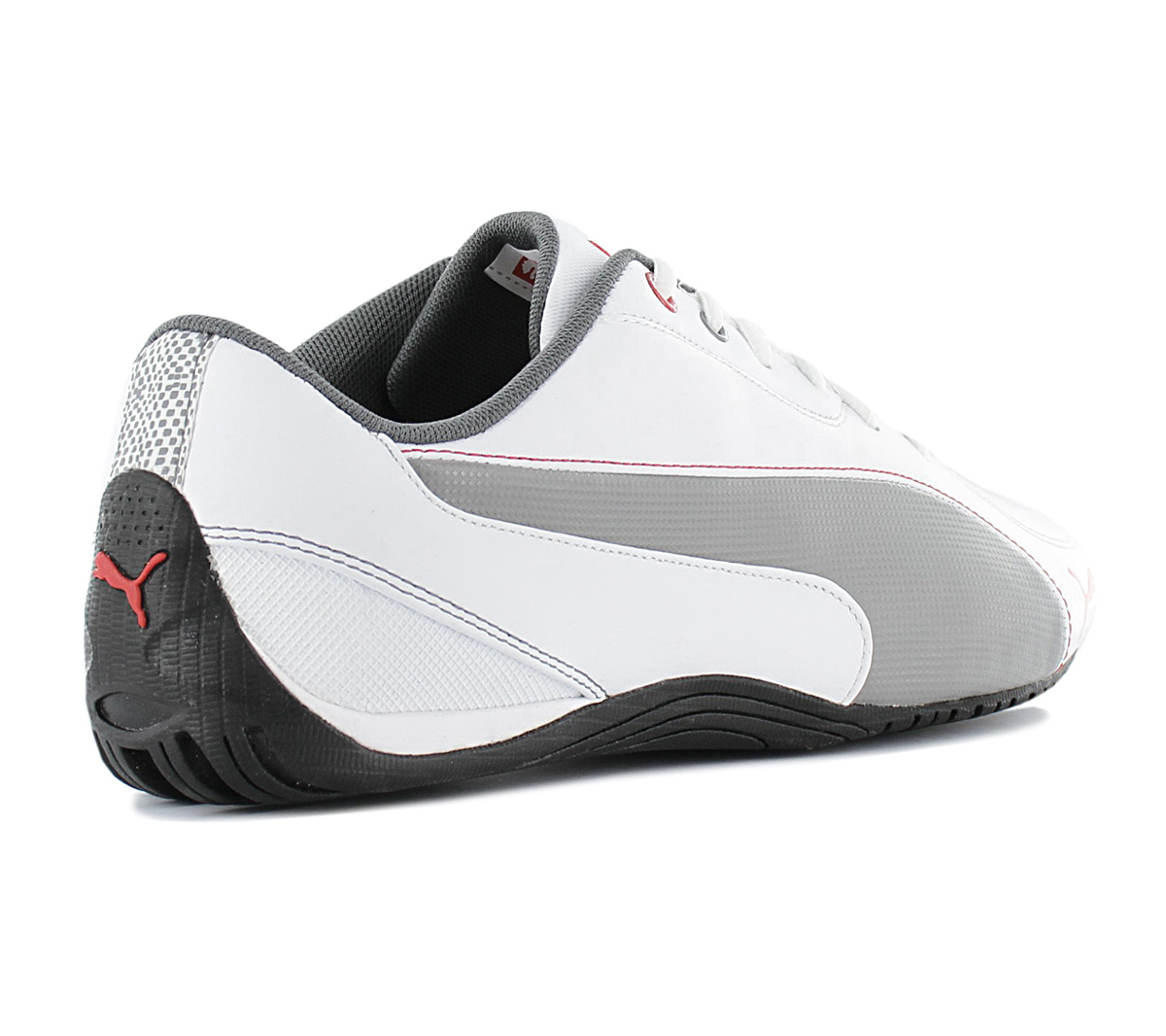Details about Puma Drift Cat 5 Men's Sneakers 304687 04 White Leather Motorsport Shoes New