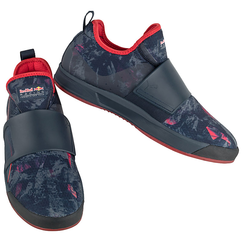puma rbr wssp booty team slip on sneaker red bull racing. Black Bedroom Furniture Sets. Home Design Ideas