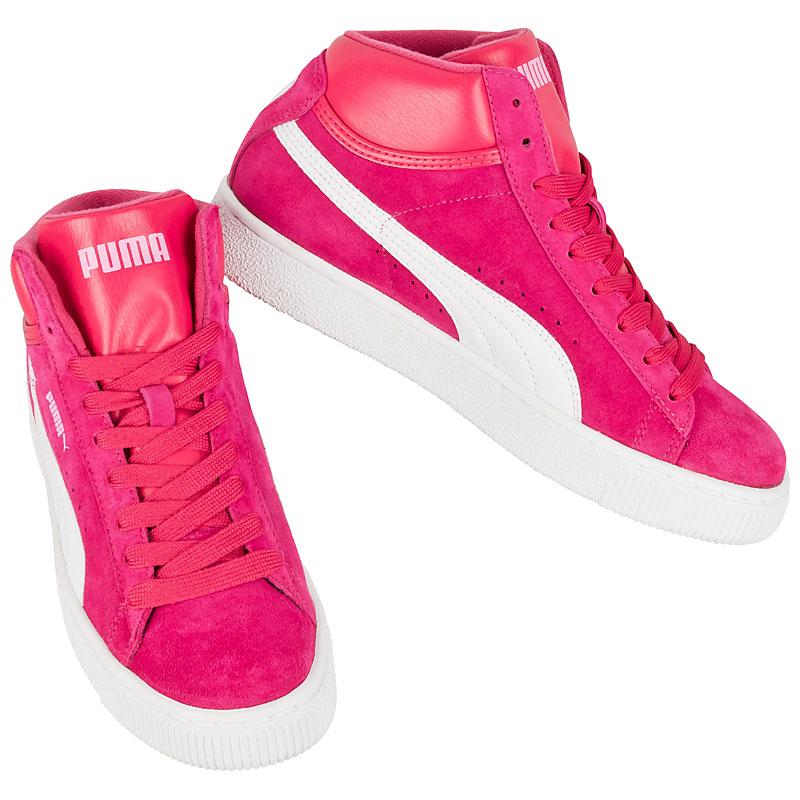 NEU Puma Mid Damen Schuhe Pink Wei 350451 10 SALE