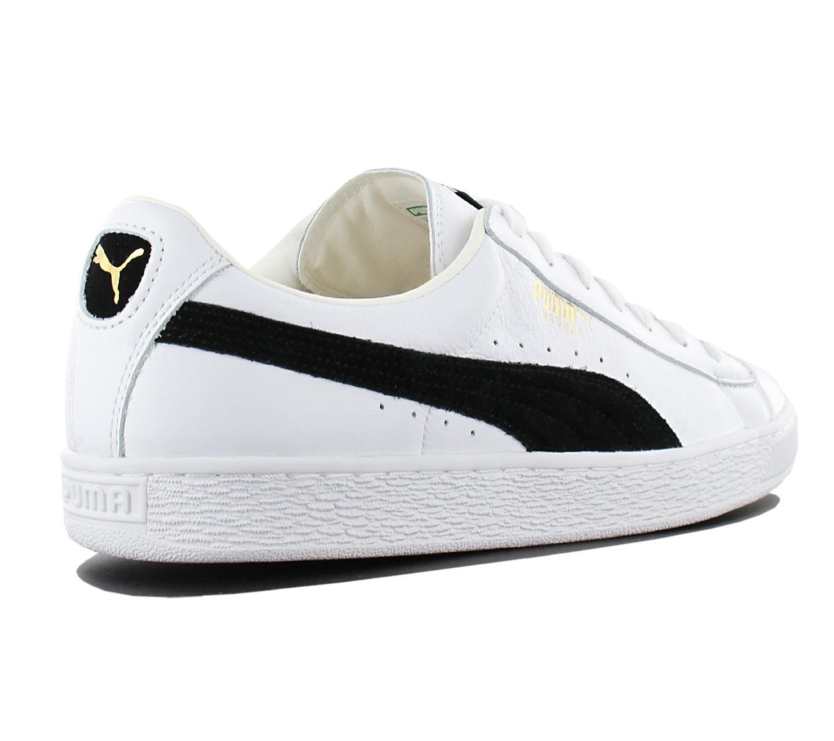 17b3d52999 NEW Puma Basket Classic Leather Trainers 351912-03 Men  s Shoes ...