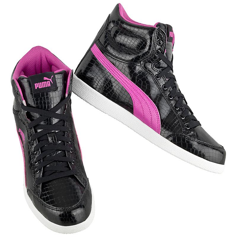 NEU Puma Ikaz Mid Serpent Damen Schuhe Schuhe Schuhe Schwarz 359839-09 SALE c034da