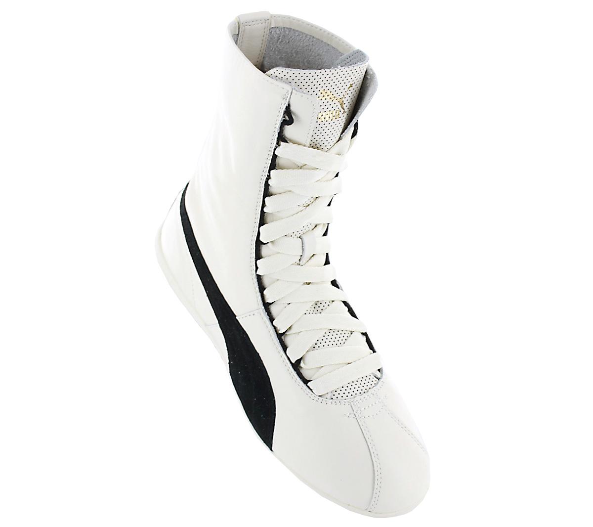 9cf820aa3df9 Puma Eskiva Hi Women s Sneakers Boots Boots Leather White Boxer ...