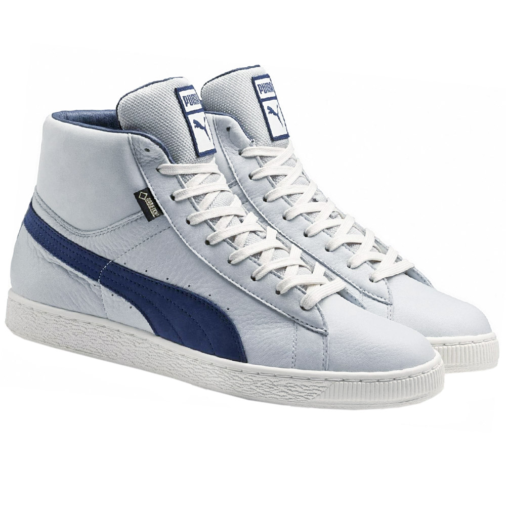 puma basket mid gtx gore tex shoes men 39 s sneakers high grey new 361900 01 ebay. Black Bedroom Furniture Sets. Home Design Ideas