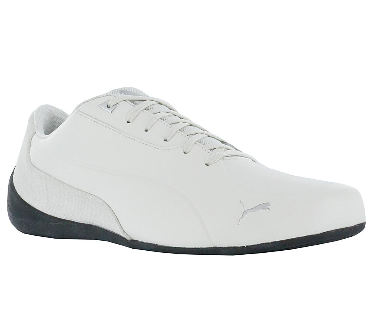 bd2cb10f0c5a5e Puma Men s Sneakers Drift Cat 7 Cln Shoes Grey Leather Motorsport ...