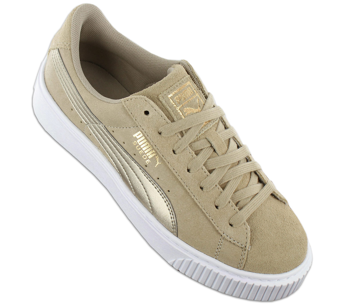 b54d36cfe44f NEW Puma Suede Platform Safari Wns 364594-01 Women Shoes Trainers Sneakers  SALE