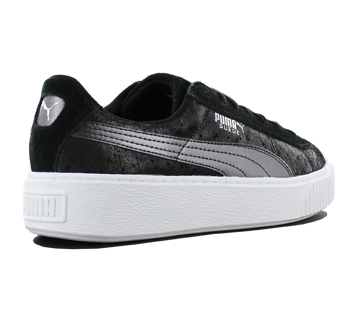 Puma Suede Platform Safari Ladies Sneaker Shoes Leisure Leather ... ac95813f7