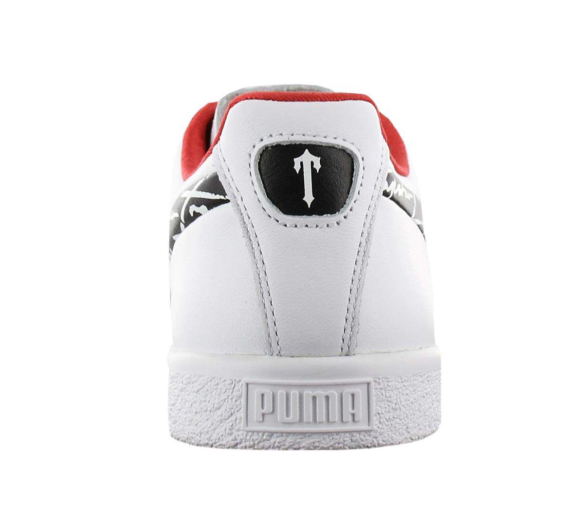 Détails sur Puma Clyde Trapstar Baskets Hommes Chaussures en Cuir Baskets Loisirs 364712 02