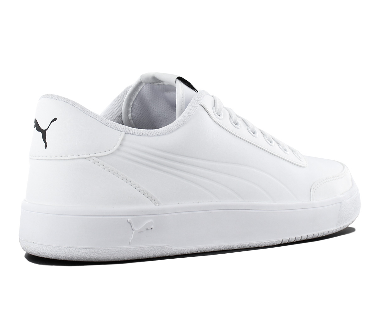 Puma Court Breaker L Mono Men s Sneakers Shoes Leather White ... 1732e1ab0