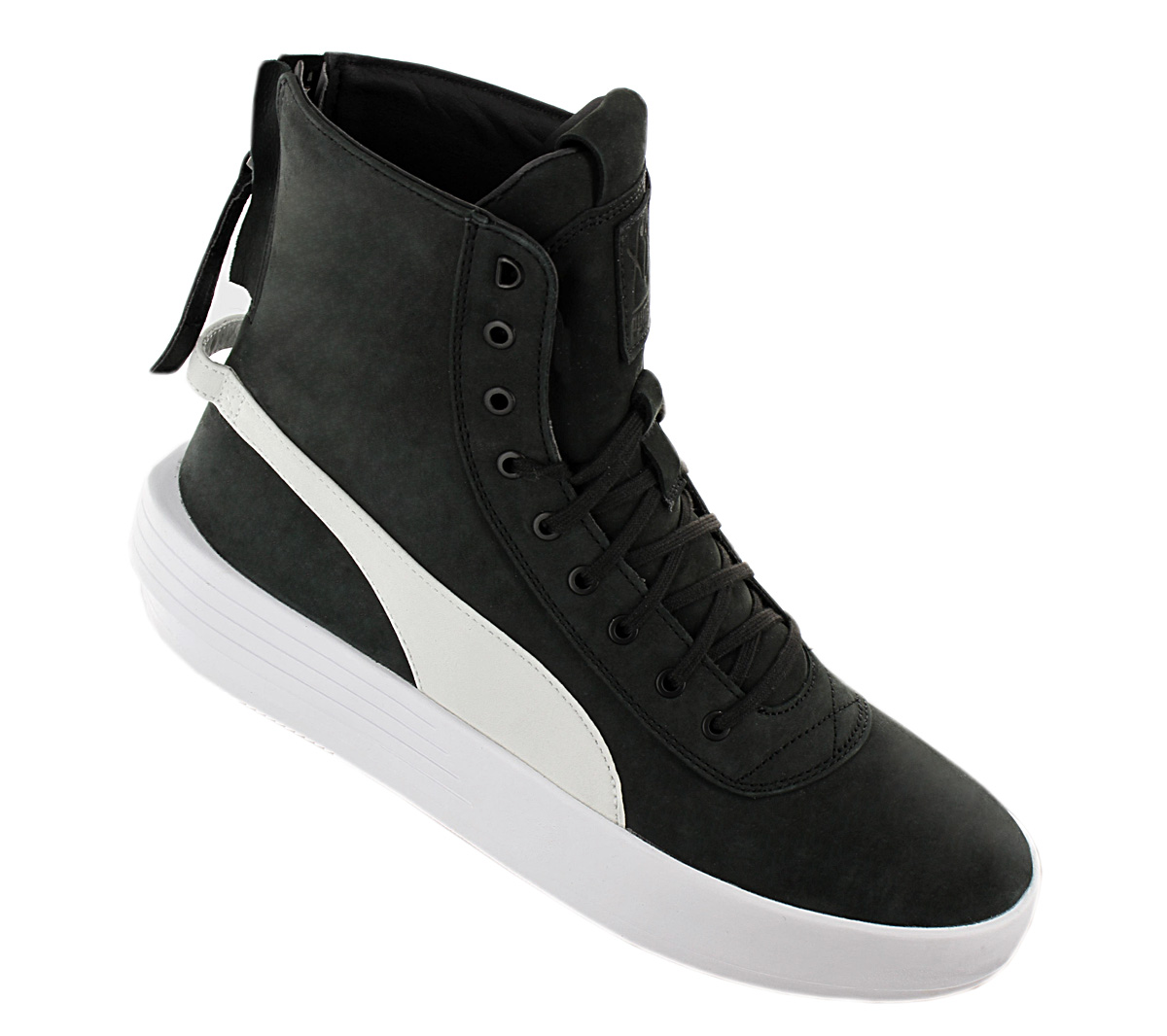 Details about Puma Xo Parallel x the Weeknd Men's Sneaker Boots 365039 05 Black Leather New