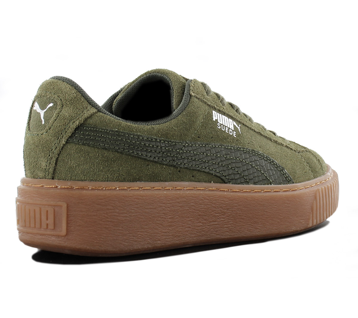 e53645bc187f Puma Suede Platform Animal Women s Sneakers Leather Shoes 365109-03 ...
