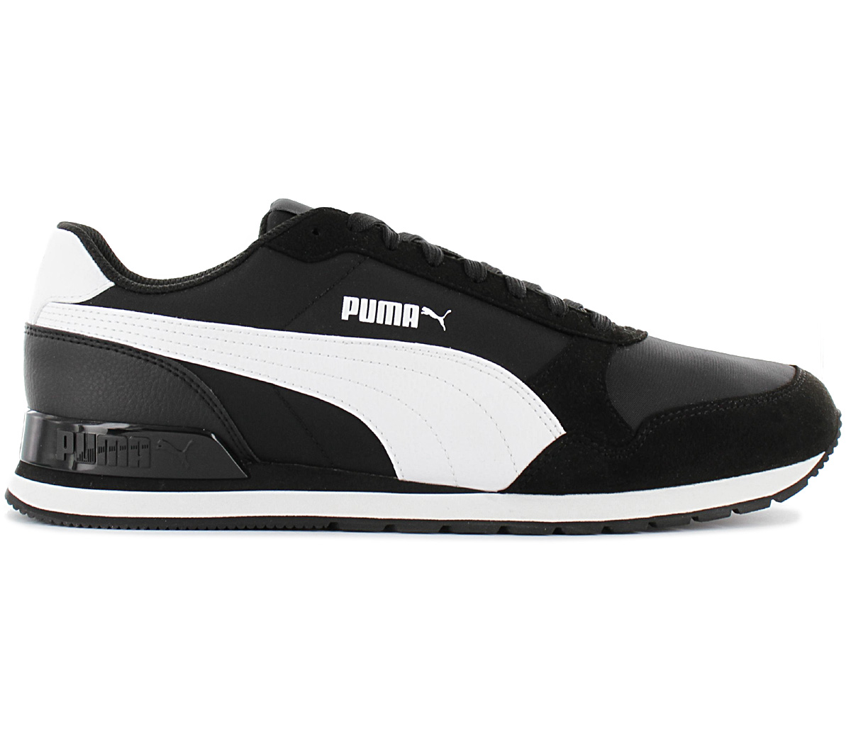 Details about Puma ST Runner V2 NL Mens Trainer 365278 01 Black Shoes Casual Sneakers show original title