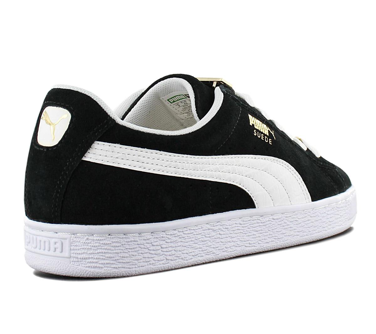 Details about Puma Suede Classic Bboy Fabulous 365362 01 Black Men's Sneaker Shoes New
