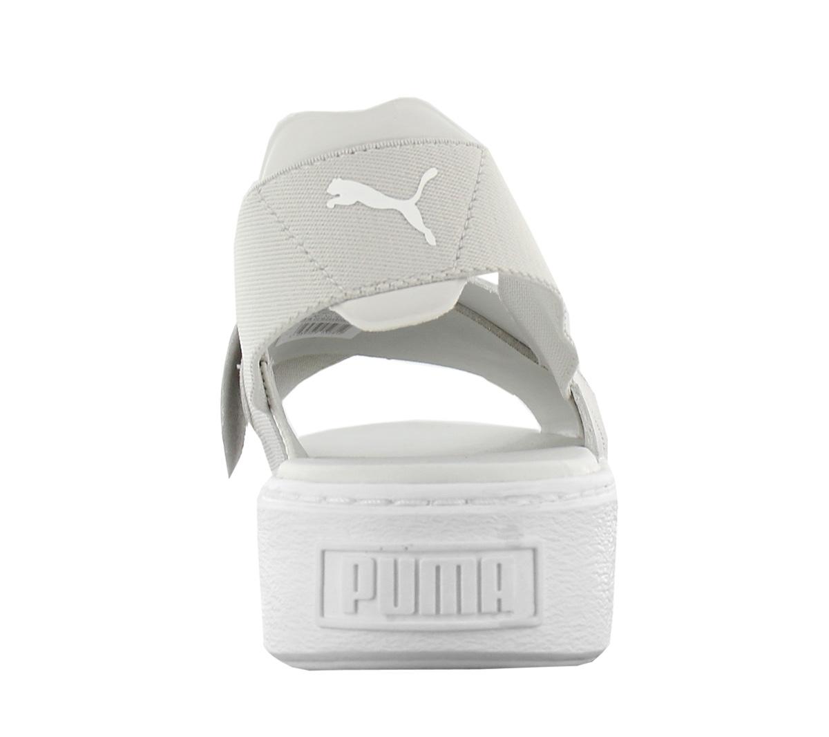 6c018c36ed5537 Puma Platform Sandal Leather Women s Shoes 365481-02 New