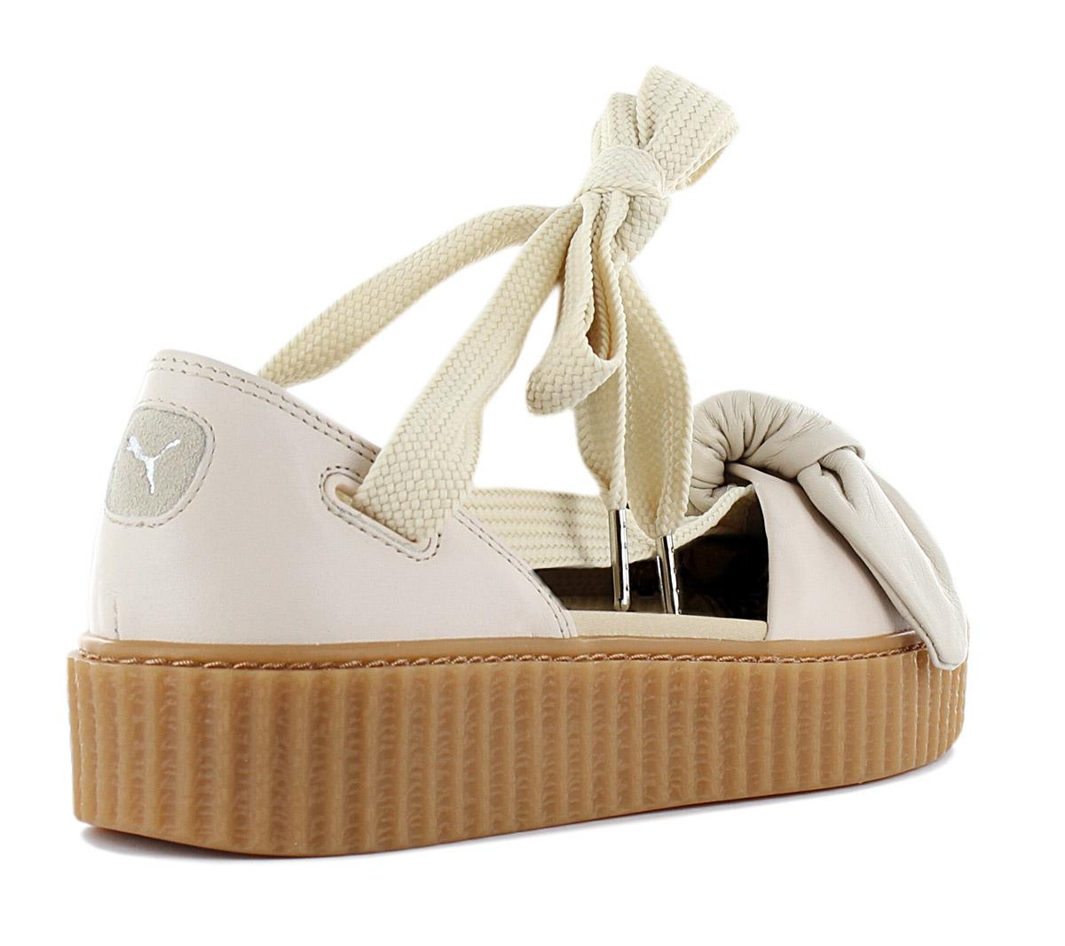 892f40d78b2d Fenty x Puma by Rihanna Creeper Bow Women s Sandals 365794-02 Shoes ...
