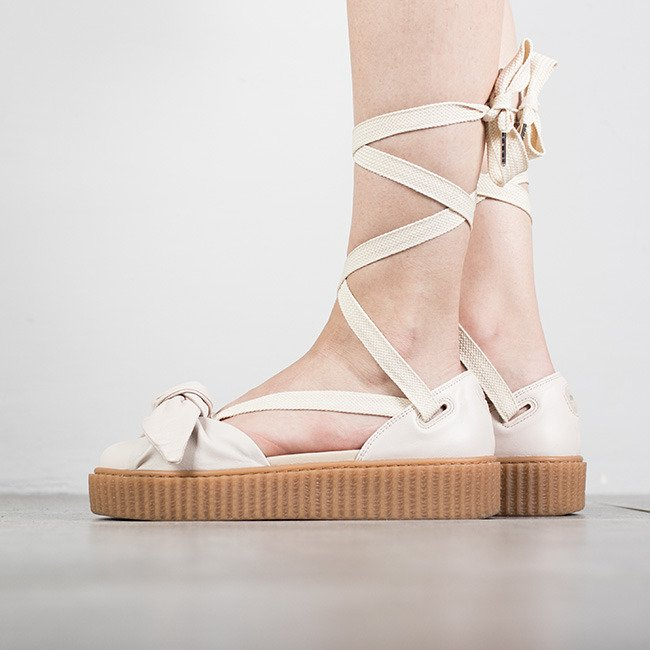 6c4ffa9be5e2 Fenty x Puma by Rihanna Creeper Bow Women s Sandals 365794-02 Shoes ...