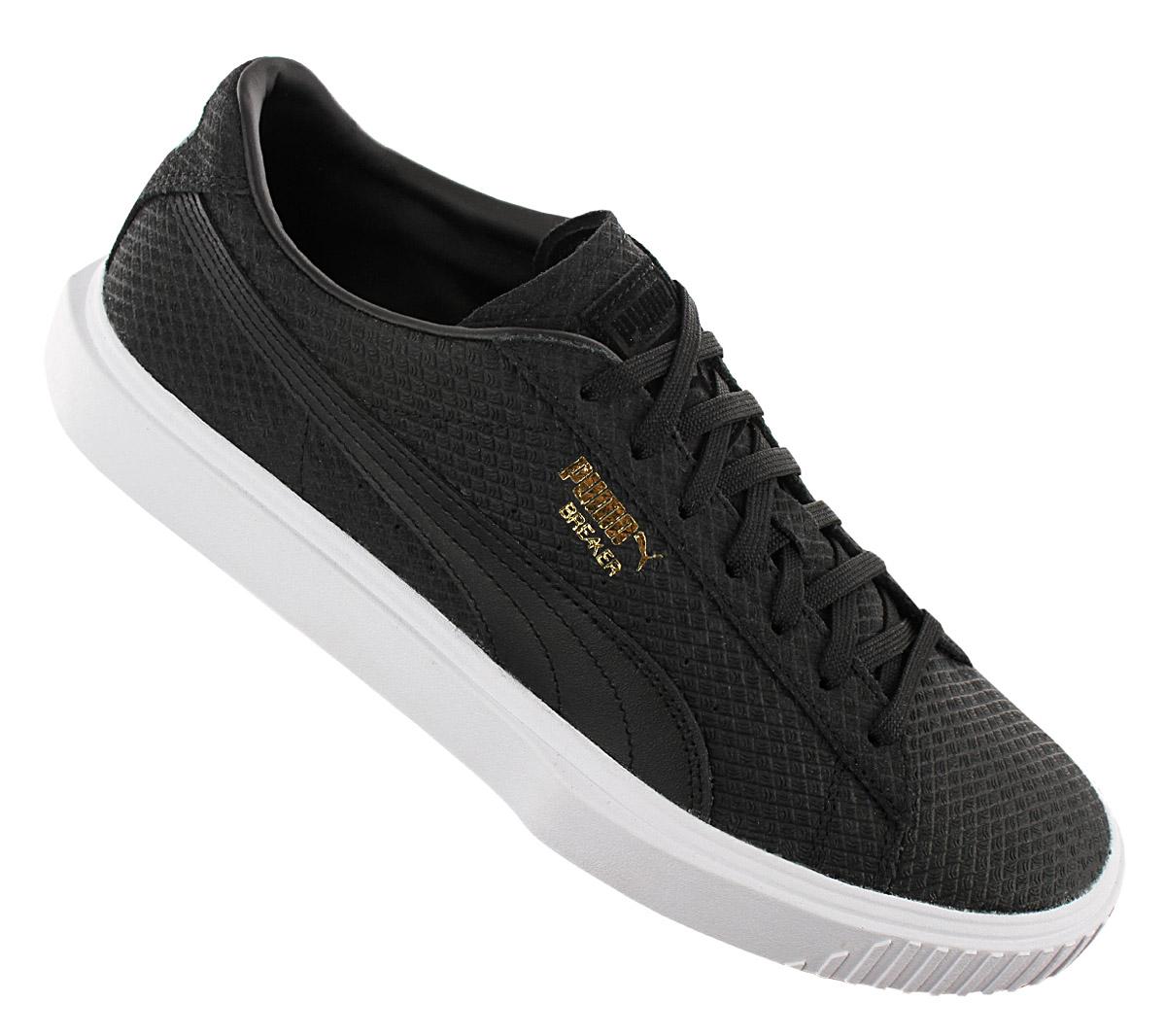 Detalles acerca de Zapatos de Cuero Puma Breaker Gamuza Para hombre Zapatillas Negro 366077 01 Ocio Nuevo mostrar título original