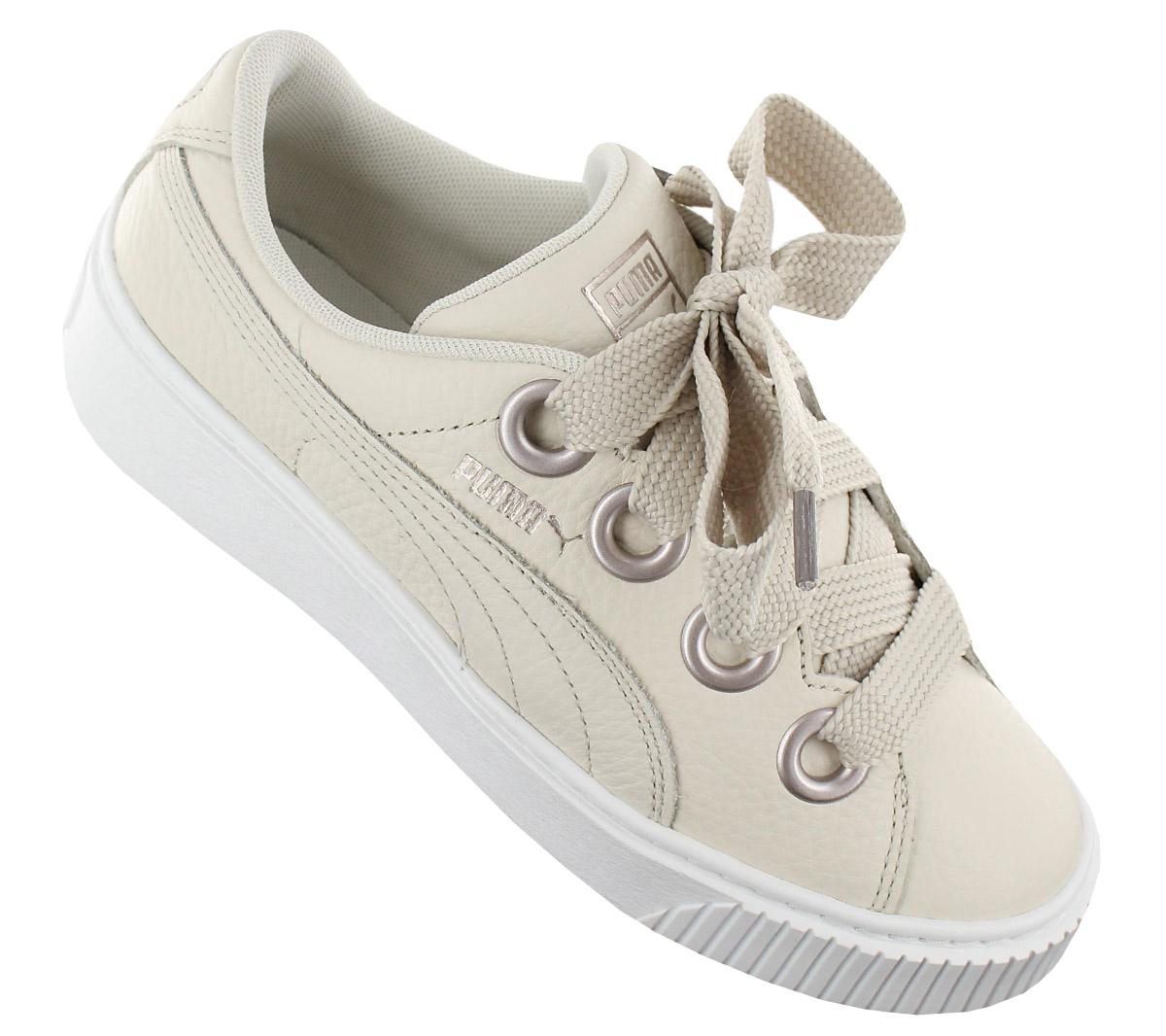 94c47c4b58a Puma Platform Kiss Leather Women s Sneakers Shoe Basket 366460-02