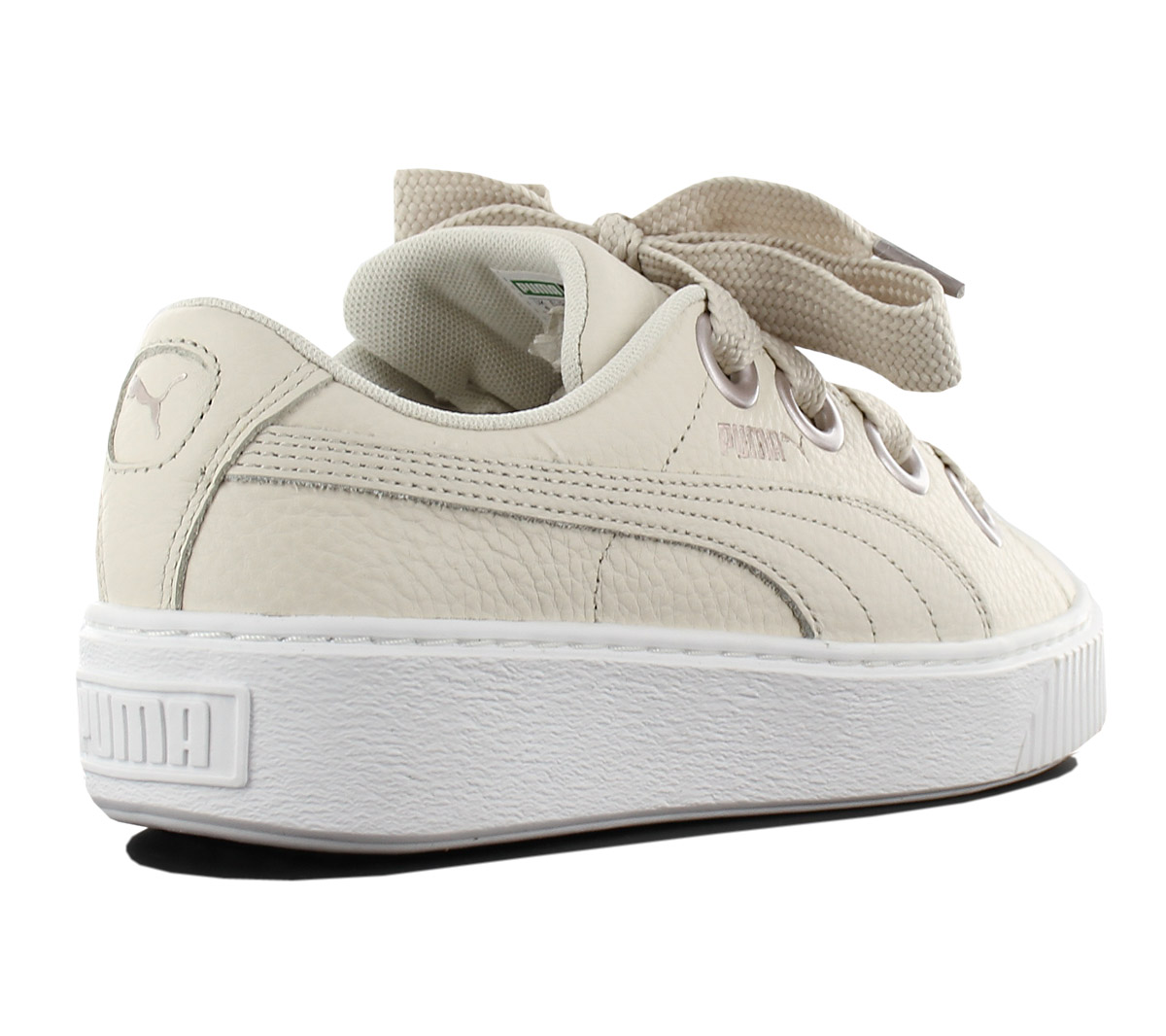 0c5658b42ed3bc NEW Puma Platform Kiss Leather 366460-02 Women  s Shoes Trainers ...