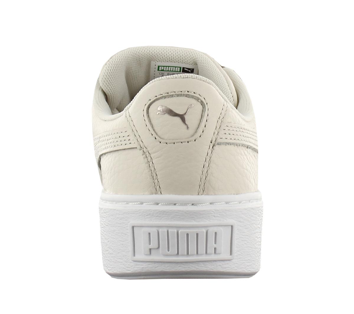 25a1f52c5e9 Puma Platform Kiss Leather Women s Sneakers Shoe Basket 366460-02