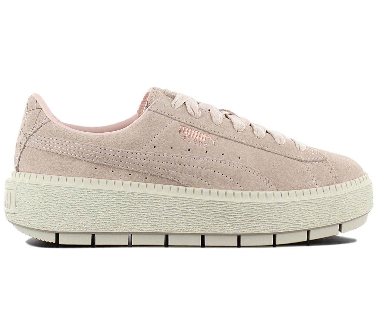 PUMA Suede Platform Trace Schuhe Rosa für Damen Kaufen, Puma