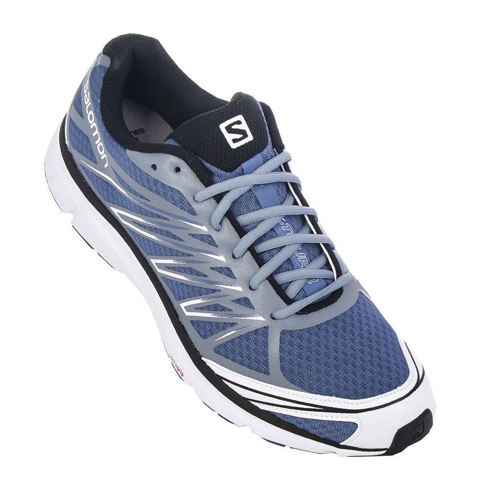 NEU Salomon Xtour 2 Herren Schuhe Grau-Blau 370723 SBLE