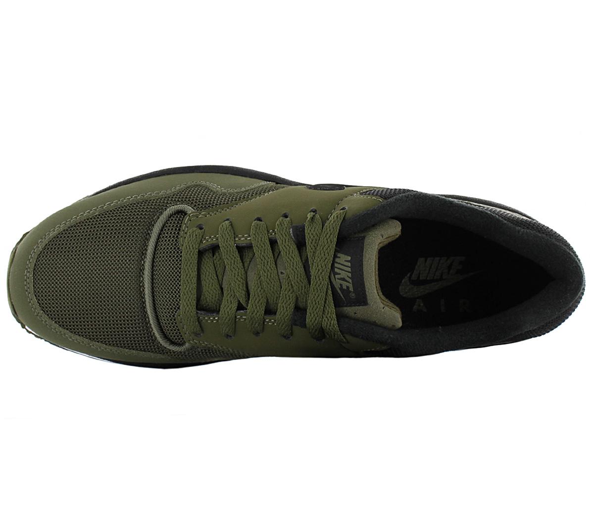 NIKE AIR SAFARI Herren Sneaker 371740 304 Oliv Grün Schuhe