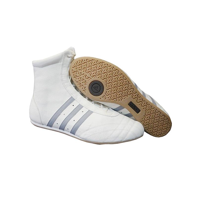 adidas prajna high schuhe hohe sneaker leder wei grau damen turnschuhe neu ebay. Black Bedroom Furniture Sets. Home Design Ideas
