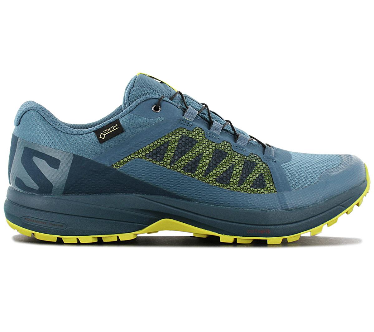Detalles de Salomon Xa Elevar Gtx Gore tex 406116 Hombre Trail Running Zapatos Senderismo